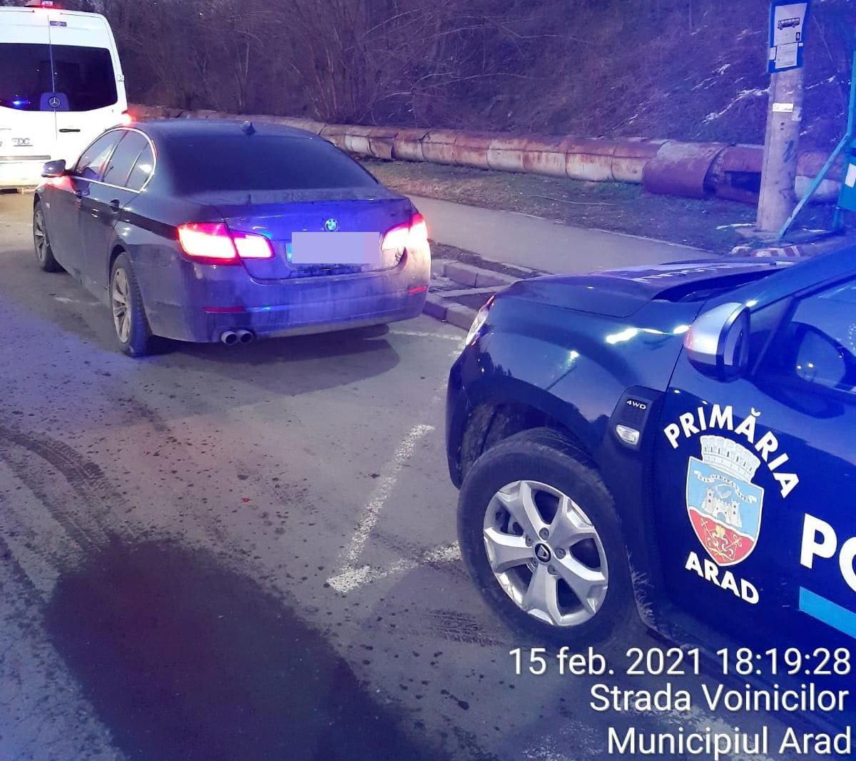 AMENZI pentru zeci de șoferi arădeni! Poliția Locală, în CONTROL (GALERIE FOTO)