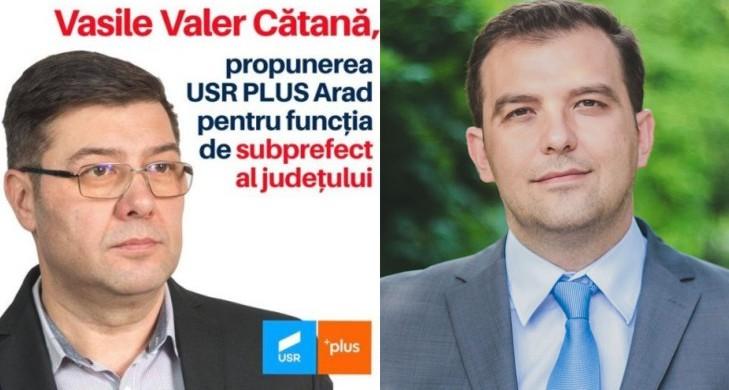 """Nu, USR nu e fain! Cătană și Bulumac, sau dubla măsură în """"partidul oamenilor noi"""""""