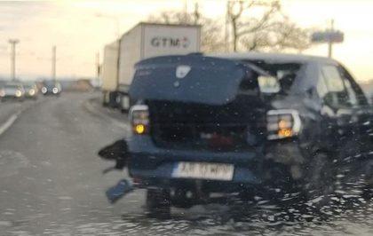 Un nou ACCIDENT la ieșirea din Arad spre Vladimirescu
