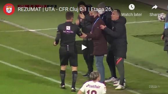 Clujenii și-au luat punctele înapoi: UTA – CFR (0 – 1) VIDEO: Rezumatul partidei și declarațiile antrenorilor