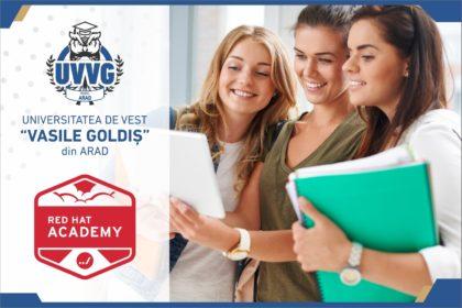 """Universitatea de Vest """"Vasile Goldiş"""" se alătură Academiei Red Hat"""