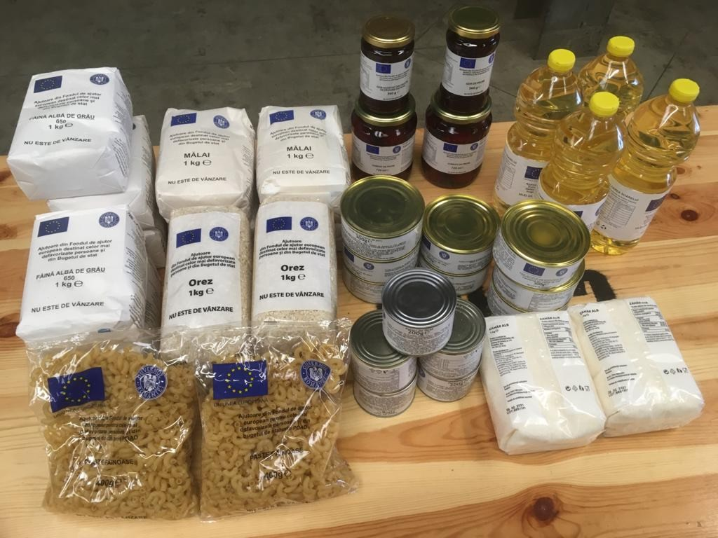 Începe distribuirea ajutoarelor alimentare. De unde pot fi ridicate