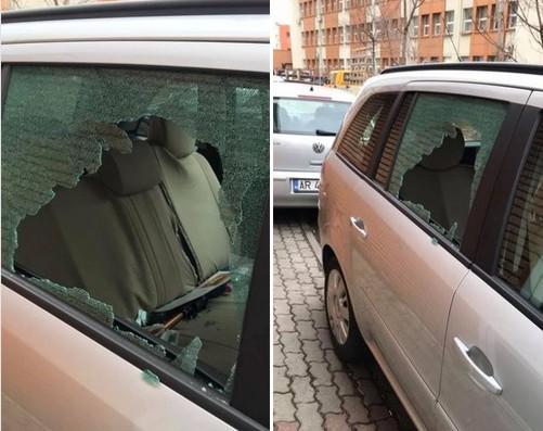 Nici un cartier NU mai e SIGUR! Mașinile sparte, la ordinea zilei. Apel către Poliția Locală