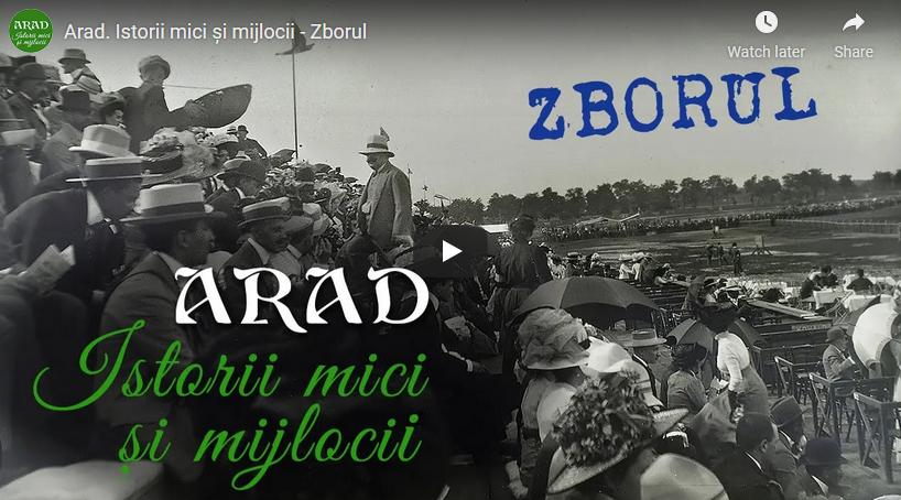 """VIDEO: """"Zborul"""", primul documentar din seria """"Arad. Istorii mici şi mijlocii"""""""