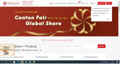 Ești interesat de piața chinezească? Participă la târgul online Canton Fair