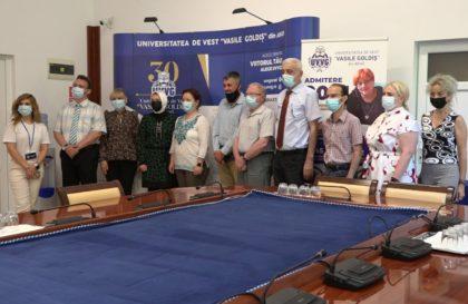 UVVG Arad a primit vizita unei delegaţii de la Universitatea Al-Zaytoonah din Iordania