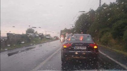 ATENȚIE ȘOFERI! Trafic BLOCAT din cauza ALUVIUNILOR, pe DN7, în județul Arad (UPDATE)