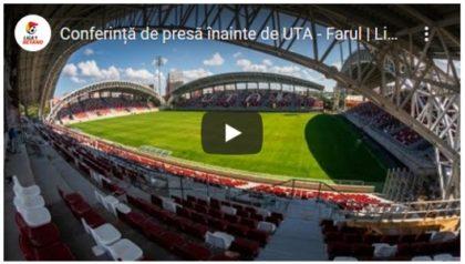 Antrenorii Hagi și Balint prefațează partida dintre UTA și Farul (VIDEO)