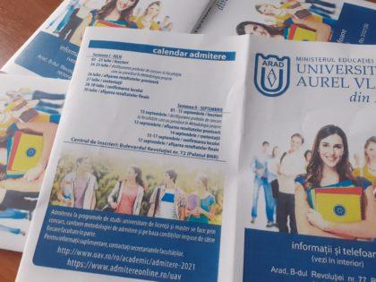 """Înscrierea la facultate, mult mai simplă: Universitatea """"Aurel Vlaicu"""" vine mai aproape de casa ta"""