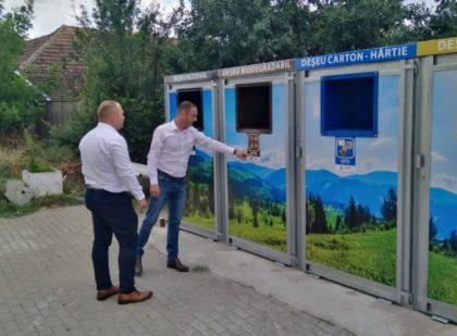 Chișineu-Criș, primul oraș din județ care a investit în infrastructura de colectare selectivă a gunoiului menajer (FOTO)
