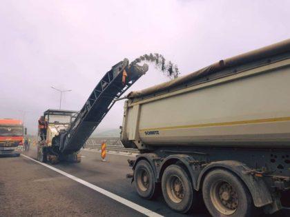 Trafic restricționat pe autostrada Arad – Nădlac