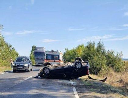 Accident rutier soldat cu o VICTIMĂ pe DN79 A (FOTO) – UPDATE