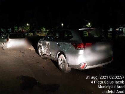 Carambol în zona Pieței Caius Iacob, provocat de un șofer băut
