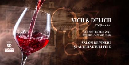 """Peste 200 de sortimente de vin pot fi degustate în acest weekend la cea de-a patra ediție a Salonului """"Vicii și Delicii"""""""